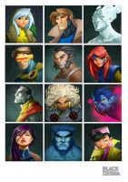 X-men poster by Gaccio