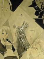 Fullmetal Collage by Hagaren-Layer