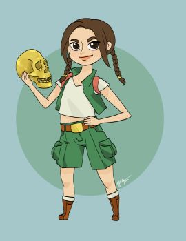 Teen-Lara-bright by iamazombiebutterfly