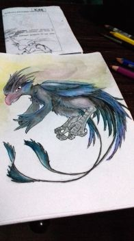 Ryo the 'Raven' by AnotherRaven