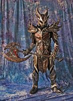 Daedric Armor from The Elder Scrolls Skyrim by StrikingCosplay