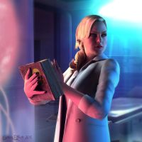 Alex Wesker: Who's there? by CrystaliqEffects