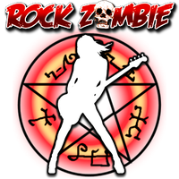 Rock Zombie by POOTERMAN