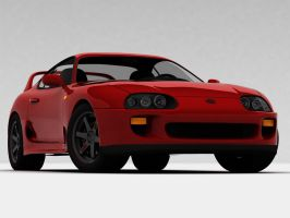 1993 Toyota Supra Turbo by ArmourOne
