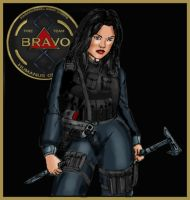 Sergeant Alka Brant by Andared