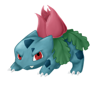 002. Ivysaur by MyWerld