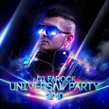 UNIVERSAL PARTY 2010 CD COVER by svpermchine
