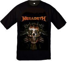 T-Shirt Megadeth by Pompelina