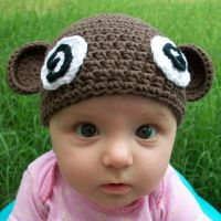 Dizzy Monkey baby hat by AngryBaby-etsy