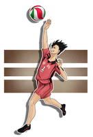 Haikyuu!! - Kuroo by Astralseed