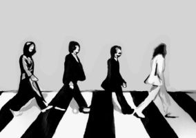 Abbey Road Painting by 60sGirl