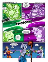 WoW Comic - Dragonball JC by Lukali