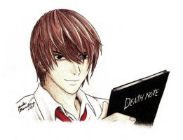 Death Note - Light 02 by Jessilla88