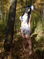 Fairy in the autumn forest by Kemiron