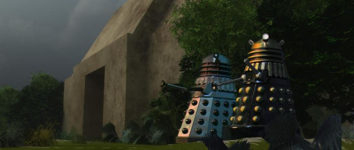 Planet of the Daleks by Chrisofedf