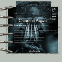 Chosen of Asgard:Template by dante-stygian
