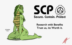 SCP BREA POSTER by CopyPastePony