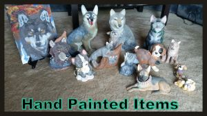 Hand Painted Items! by Vesperwolfy87