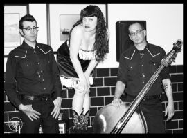 Delilah Dewylde and band by WolverineAC