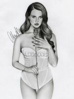 Lana Del Rey - Born To Die by aleexart