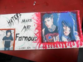 haters make me famous -botdf by demingirl15