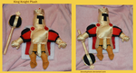 King Knight Plush by DonutTyphoon