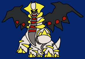 Giratina by CrimsonWolfmon
