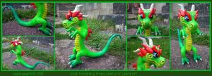*FORSALE*Jade Hatchling (World of Warcraft) sculpt by stephanie1600