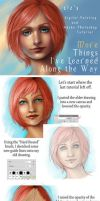 Blue Eyes Tutorial Revisited by XeiArt