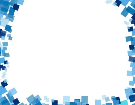 Abstract - Blue Certificate Border by bheiy09