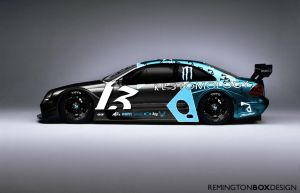 Mercedes Race car by remingtonbox