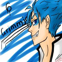 GRIMMJOW by gigglesalot