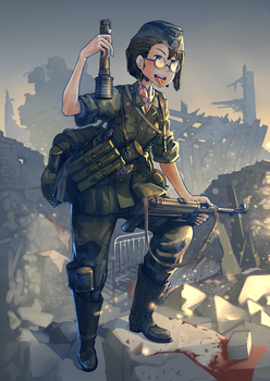 36th Waffen Grenadier Division by Erica1940