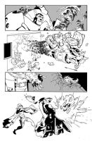 Fantomex MAX, Issue 1, page 3 by Inkpulp