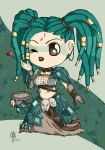 Chibi Headhunter Sona by oOCrazyKittyOo