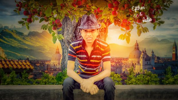 Apple tree Efther Hossain Istie by eftherhossain