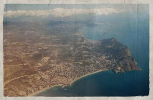 Benidorm Air Postcard by raspete
