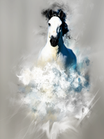 White Horse by Momez