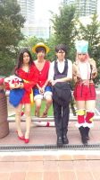 Cosplay with friends by Tamama0917