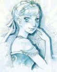 Anna princess of Aerendelle sketch by lilie-morhiril