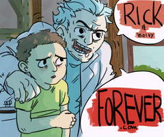 Rick and Morty by f4tol