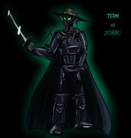 Masked Ball Zorro by cri86