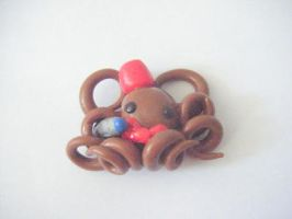 Doctor who Octopus Pendant by minecraftfox