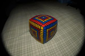 Same Rubik's cube from further back by Nofew
