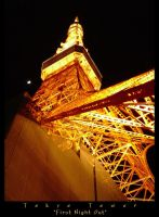 Tokyo Tower : First Night Out by quexthemyuu