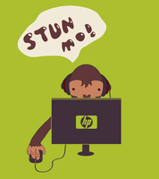 Monkey Gaming by Momage