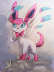 Sylveon Experiment by LetheDreamer