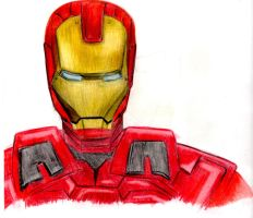 Iron Man by bronzebug