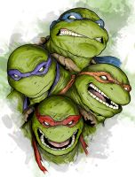 TMNT - Brothers by LRitchieInk