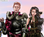 Alistair and Faline by ChloexBowie